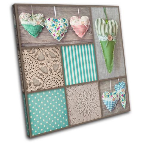 Hearts shabby chic Love - 13-0472(00B)-SG11-LO
